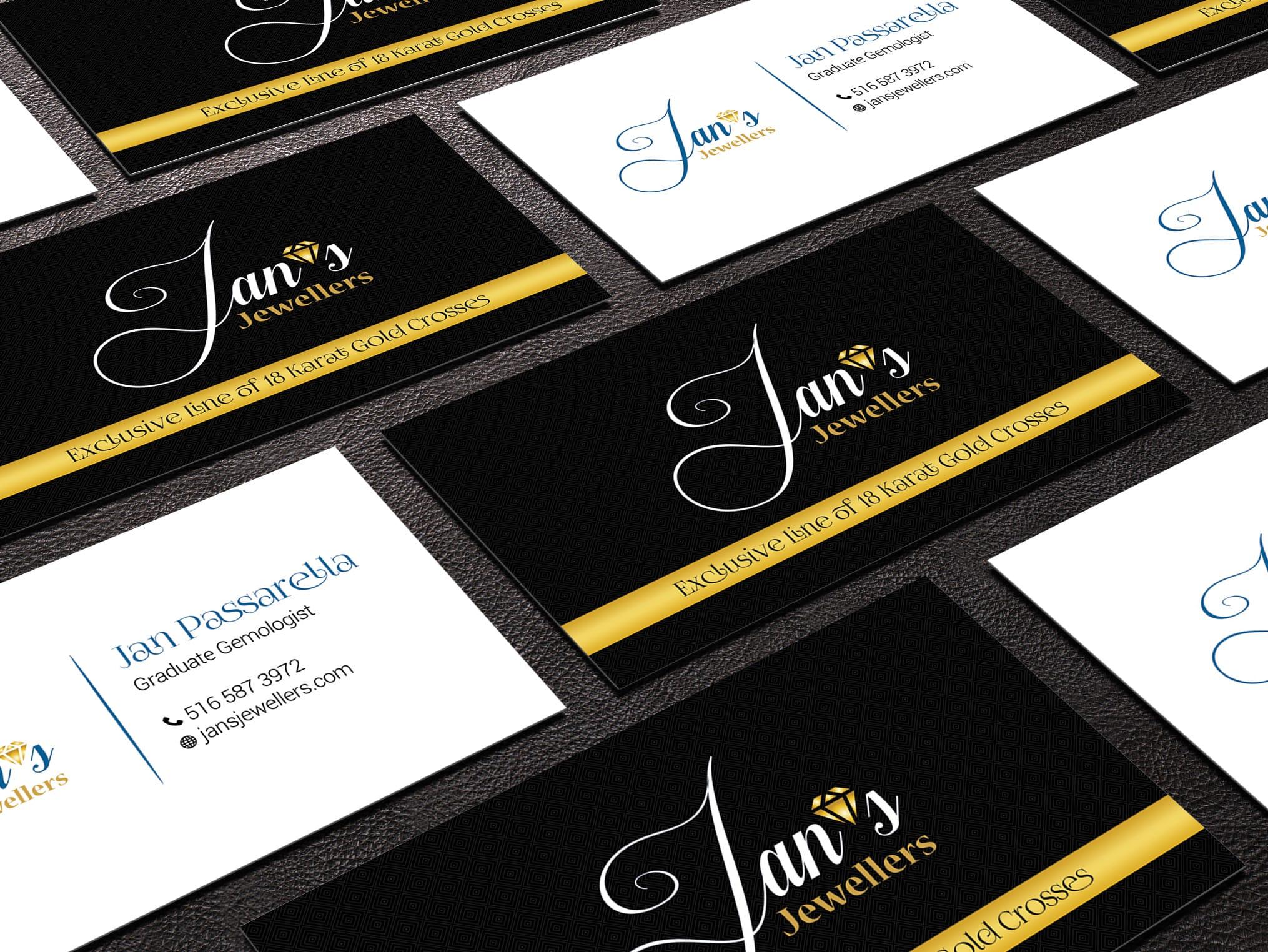 create a custom business card design | Fiverr