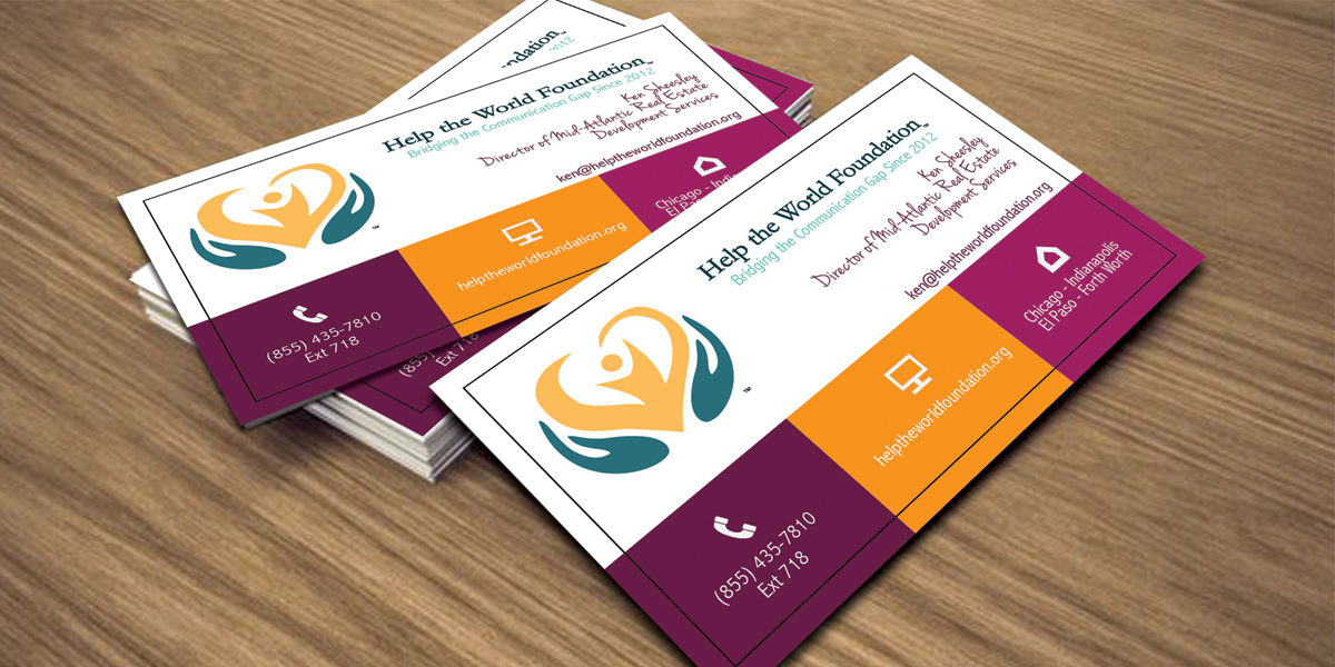 Design business card with two concepts by rezanxt reheart Image collections