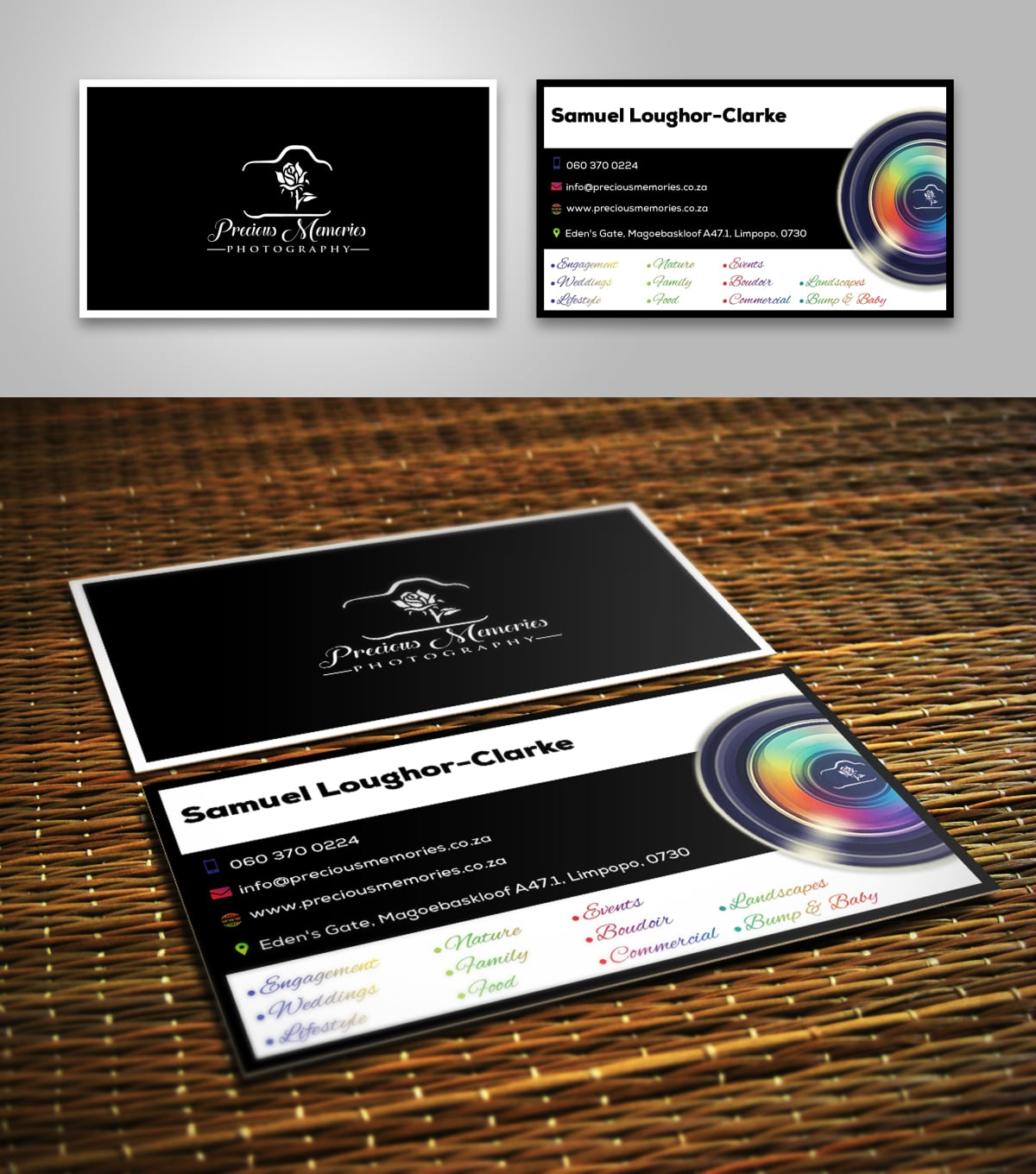 Design professional business card by sarah001 reheart Choice Image