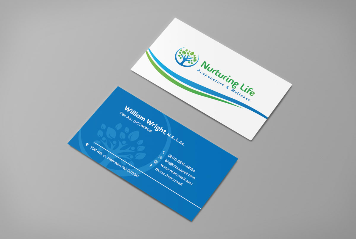 Design 24h two professional business cards by Micastudios