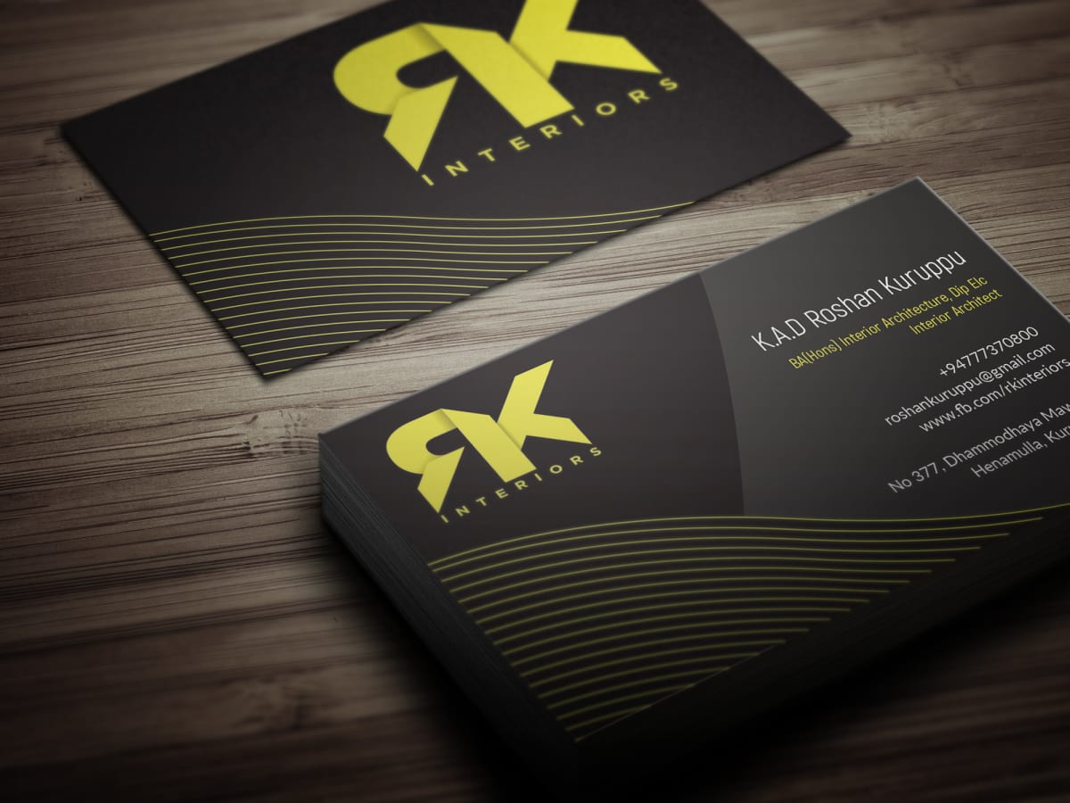 Design business card with two concepts by huester1 colourmoves