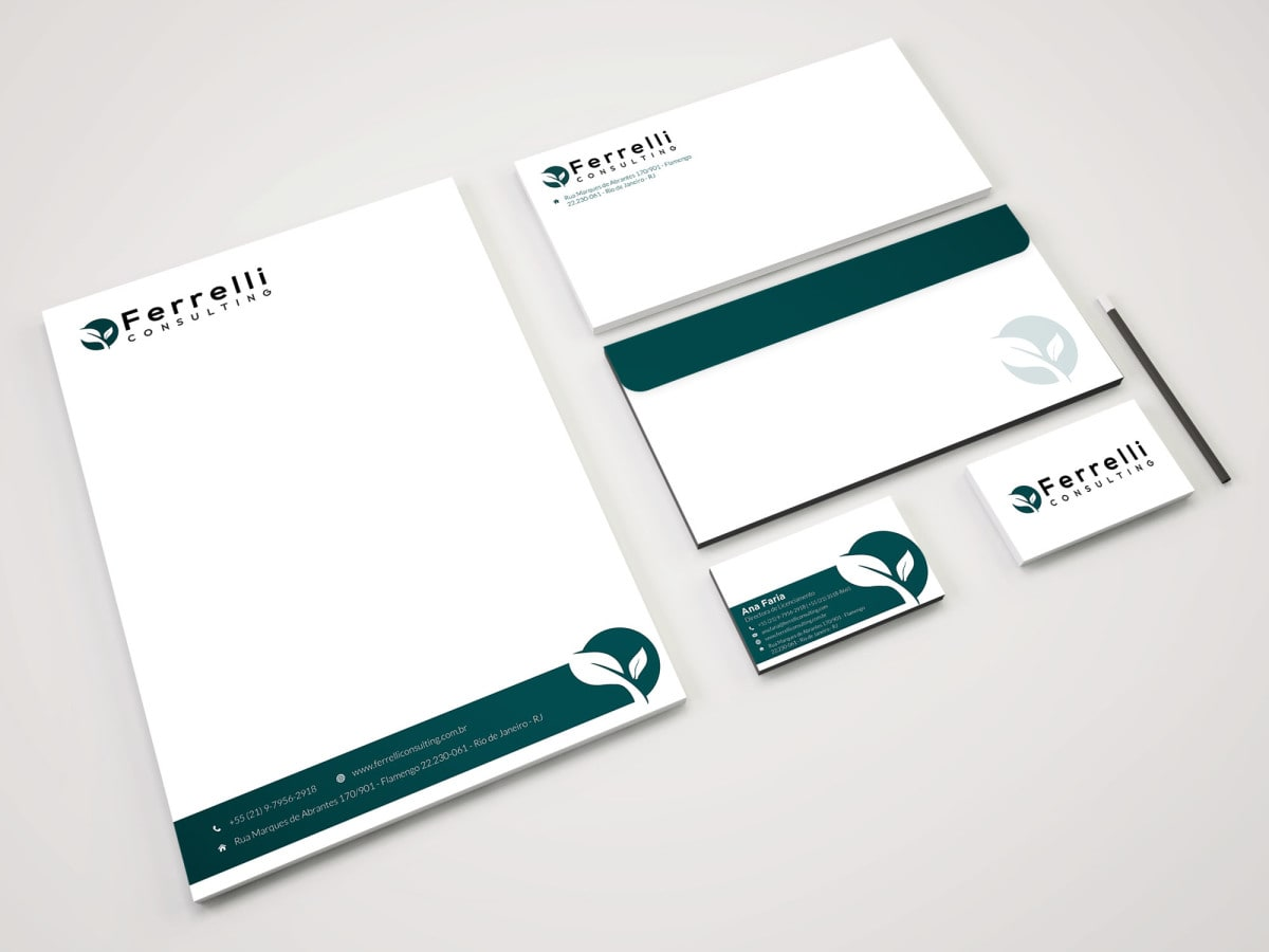 Design business card, letterhead and stationary items by Eagergraphics