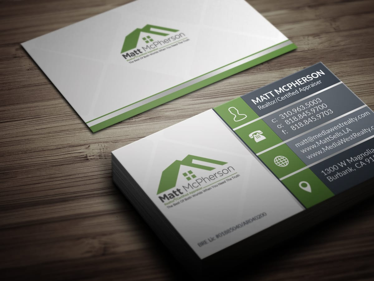 Design business card with two concepts by huester1 reheart Choice Image