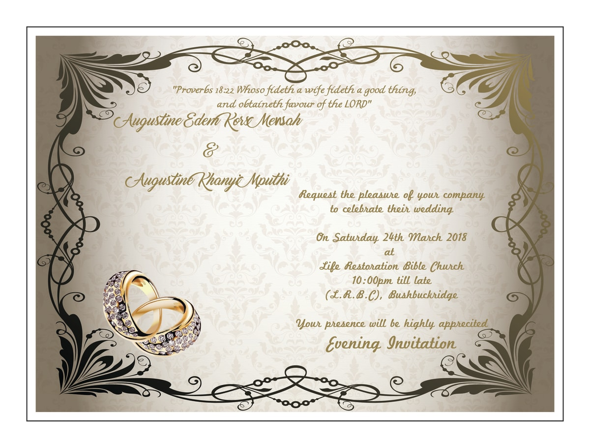 Design any type of party and wedding invitation cards by sidraawan stopboris Images