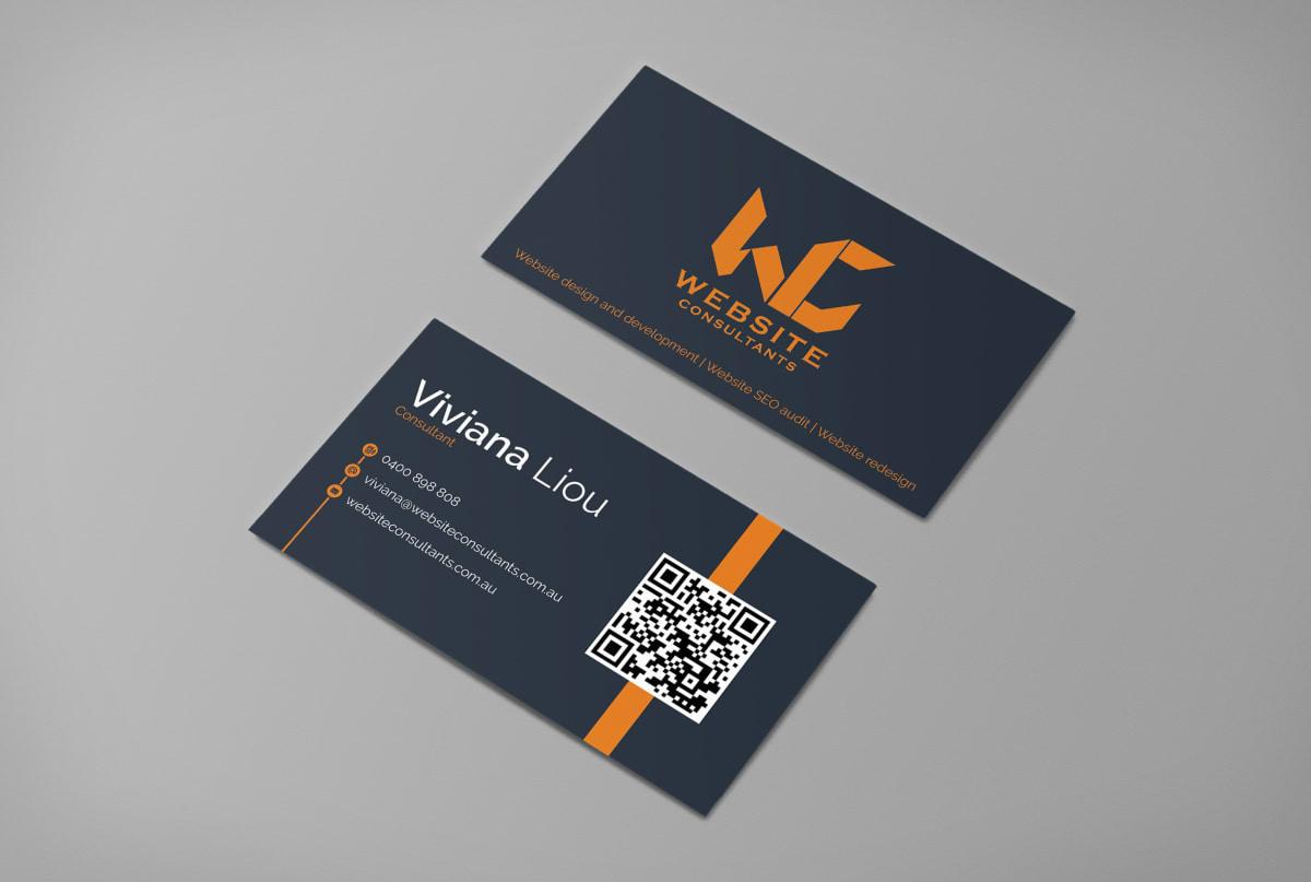 minimal business card design | Fiverr