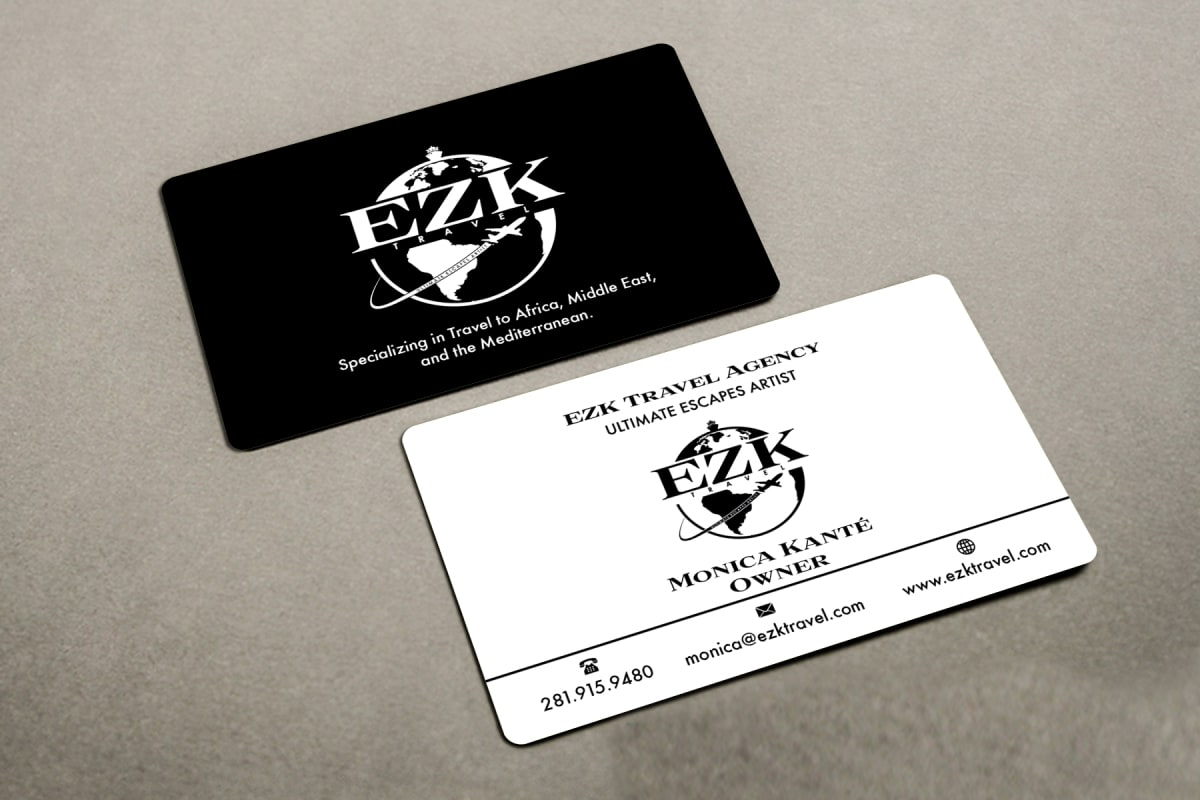 Design a free logo and a minimal business card for you by desynlogo colourmoves