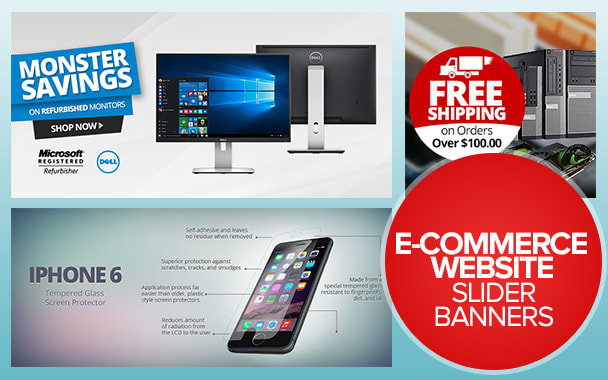 Design Your Ecommerce Website Banner And Sliders By Kumarmoney