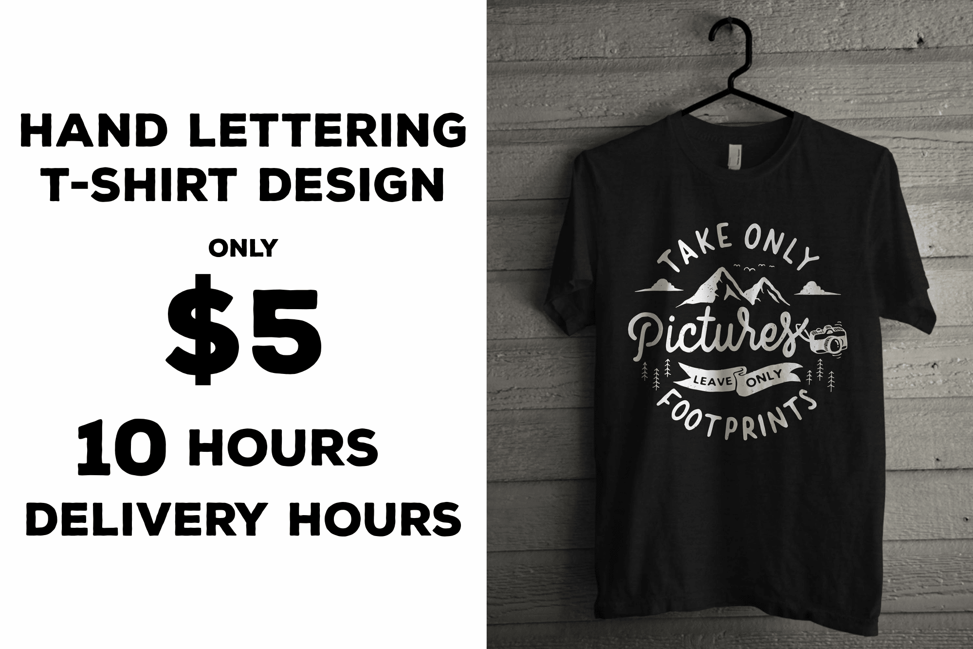 Do All T Shirt Design From Hand Lettering By Elevencreative