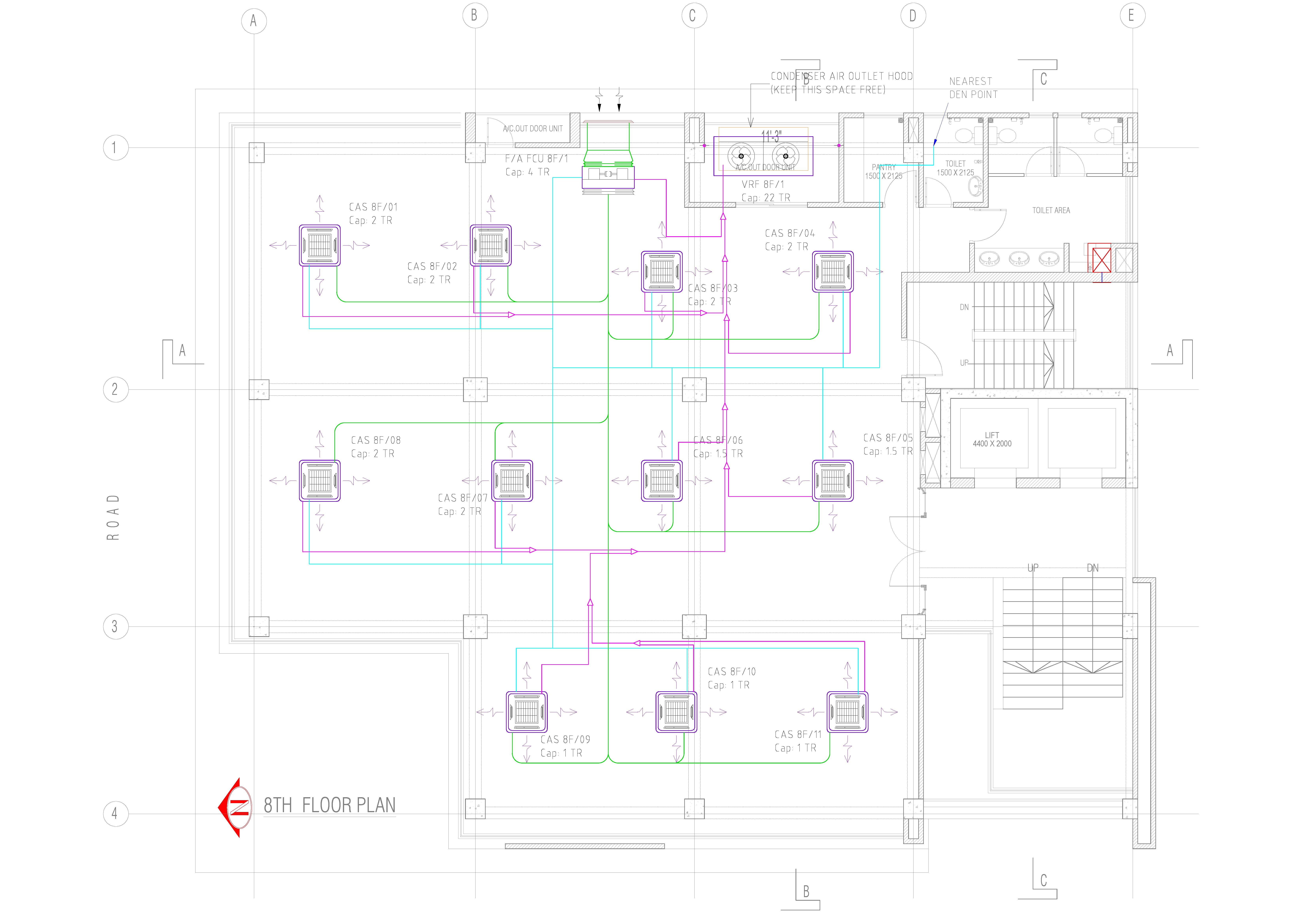 autocad hvac drawings pictures draw any hvac system layout drawing for autocad 2d by mahabubur8407  draw any hvac system layout drawing for