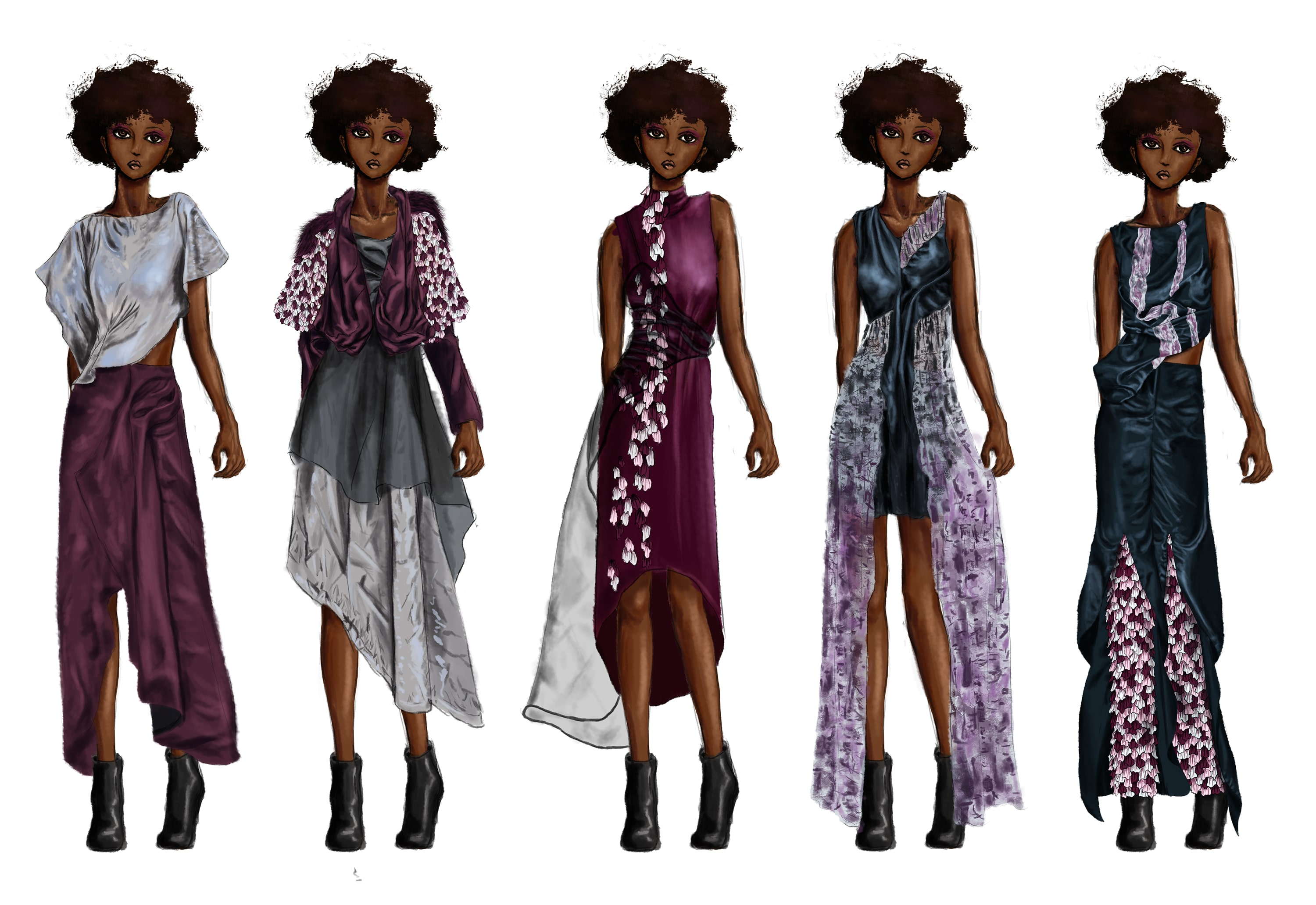 Create Fashion Illustrations Croquis And Figures By Siewdesigns