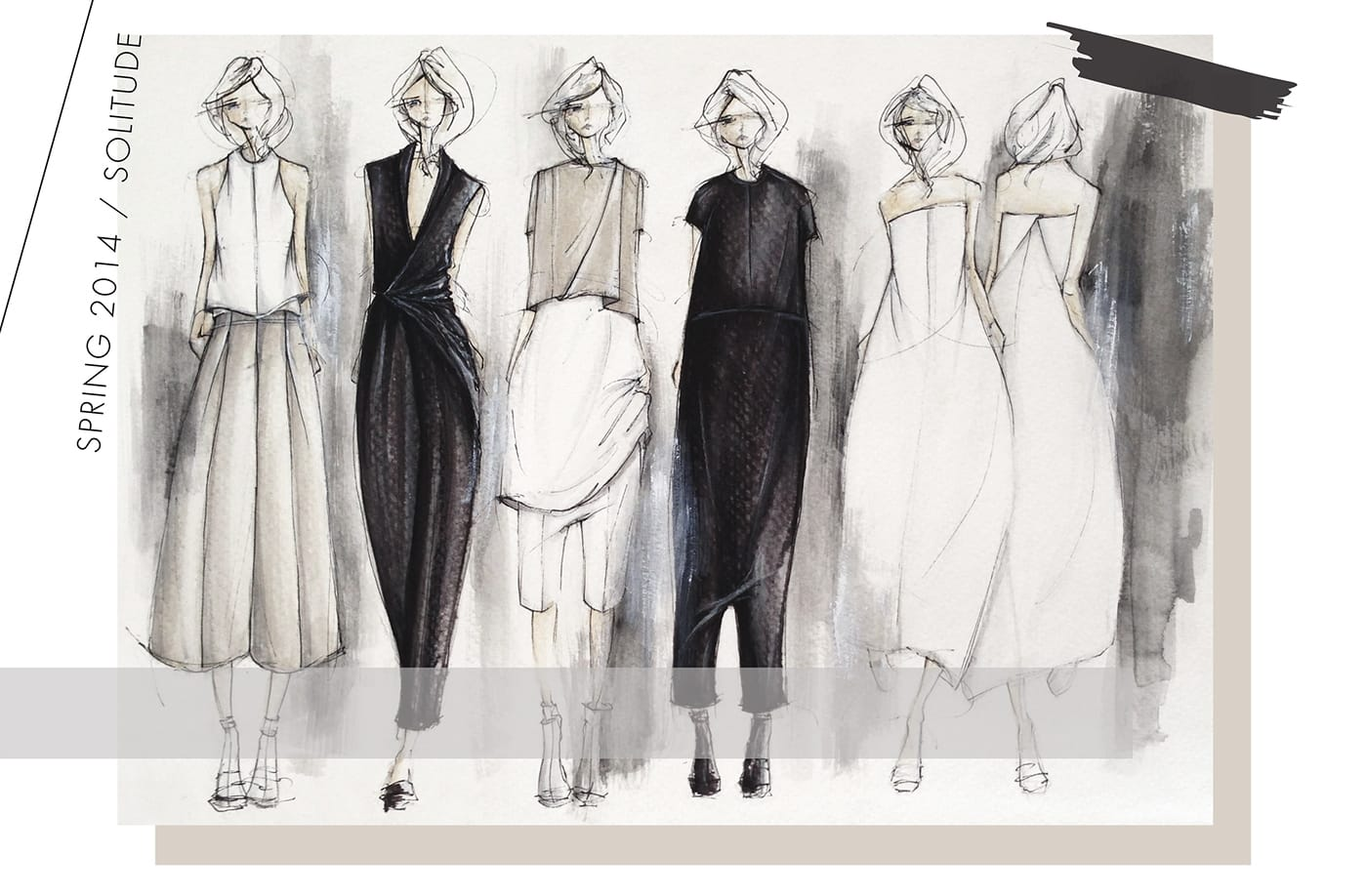 Create Fashion Flat Sketches Mood Board And Collections By Lovegrace6