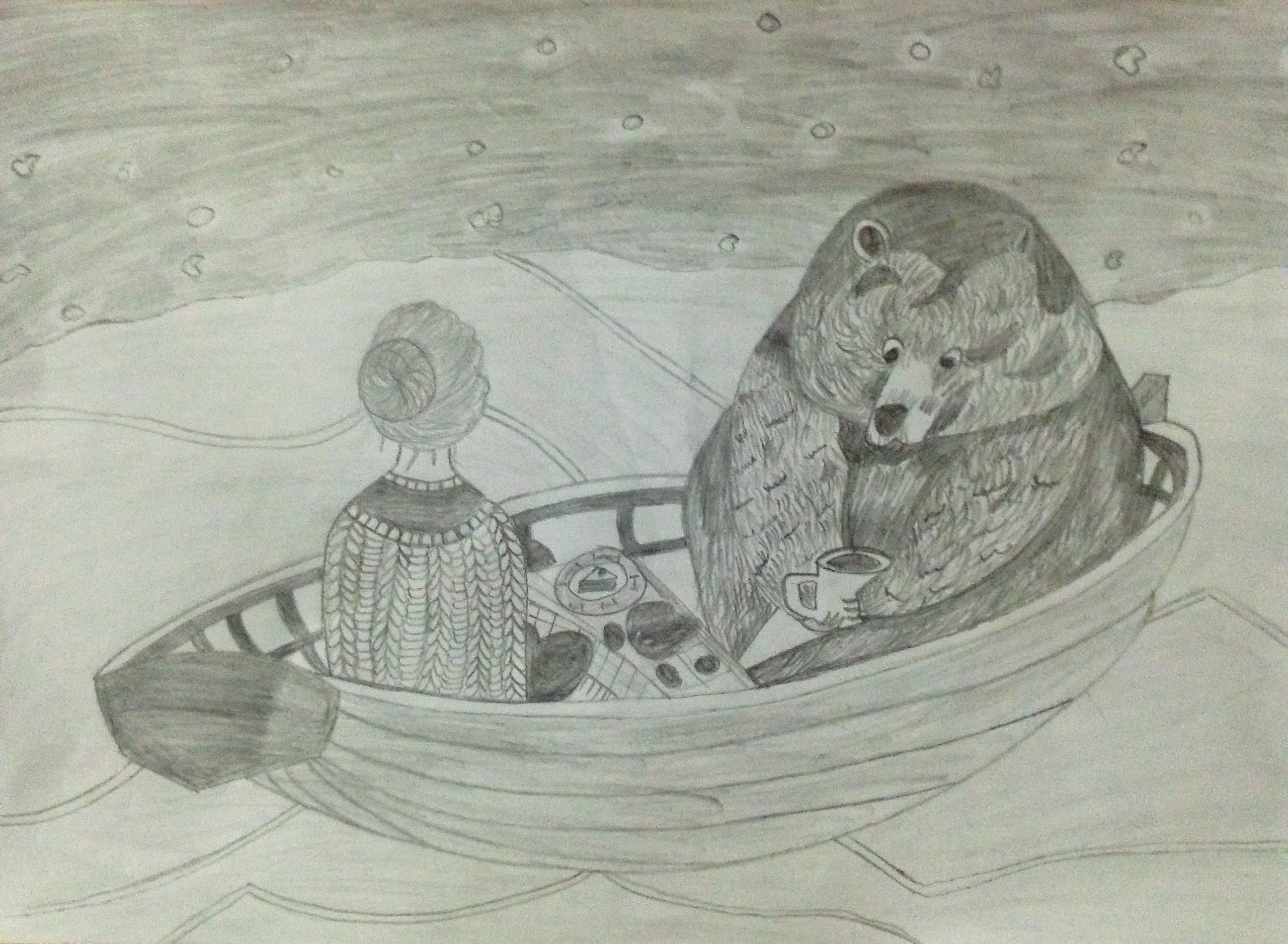 Do pencil sketch design by tracygomez