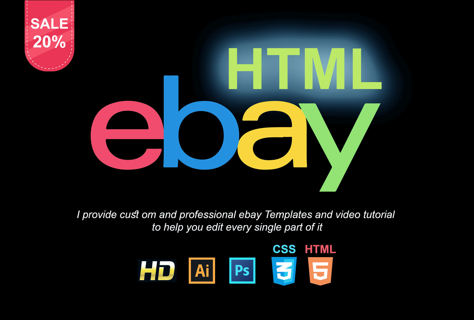 Create Ebay Html Template For Product By Freeman128
