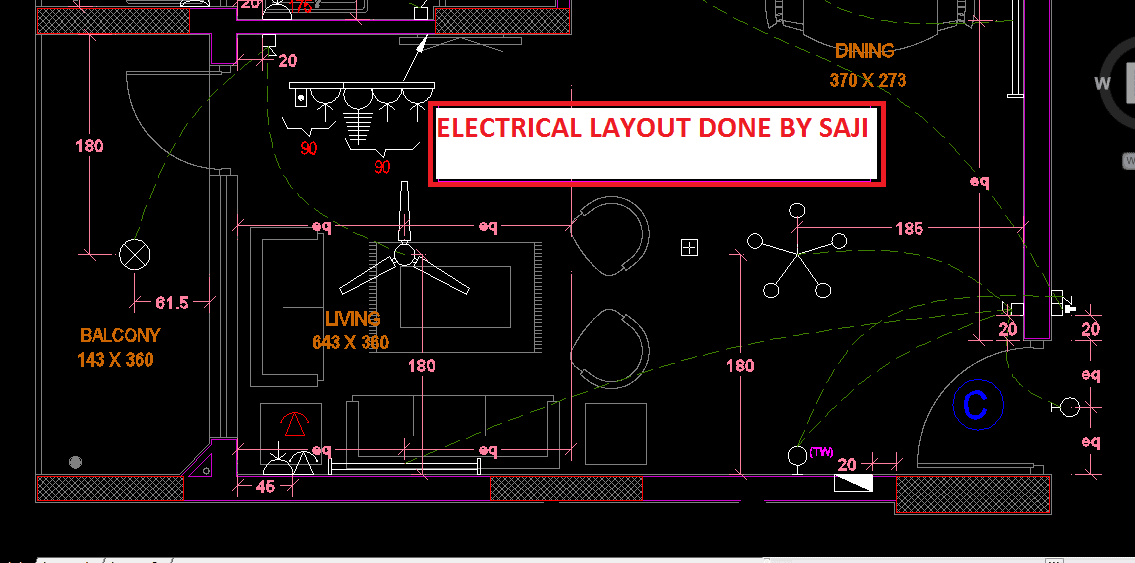 Design And Drawing Full Electrical System For Construction By Saji123