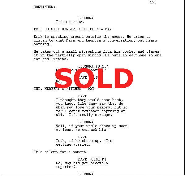 Write a pilot script best definition essay proofreading websites for mba