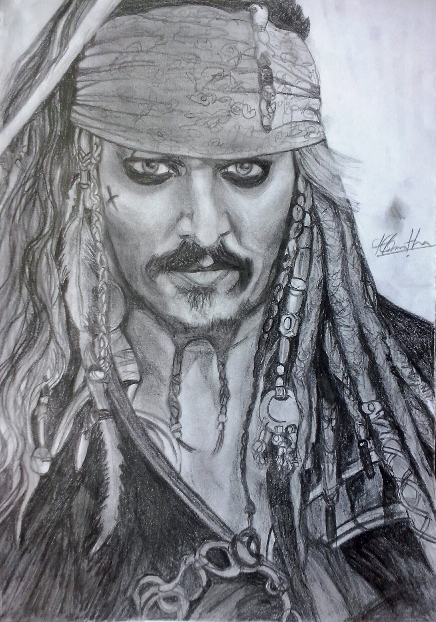 I will create a professional pencil drawing