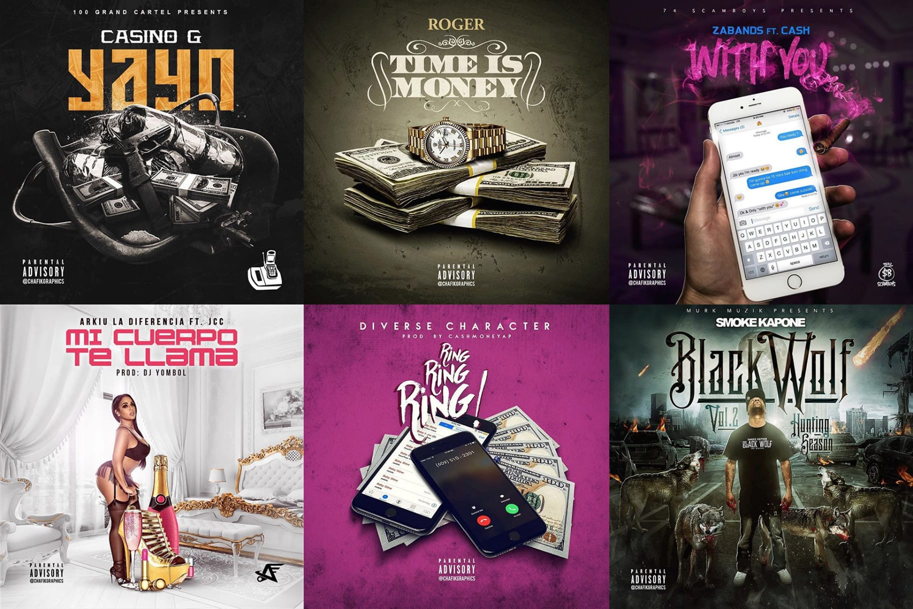 Design A Dope Single Or Mixtape Cover Design By Chafikgraphics