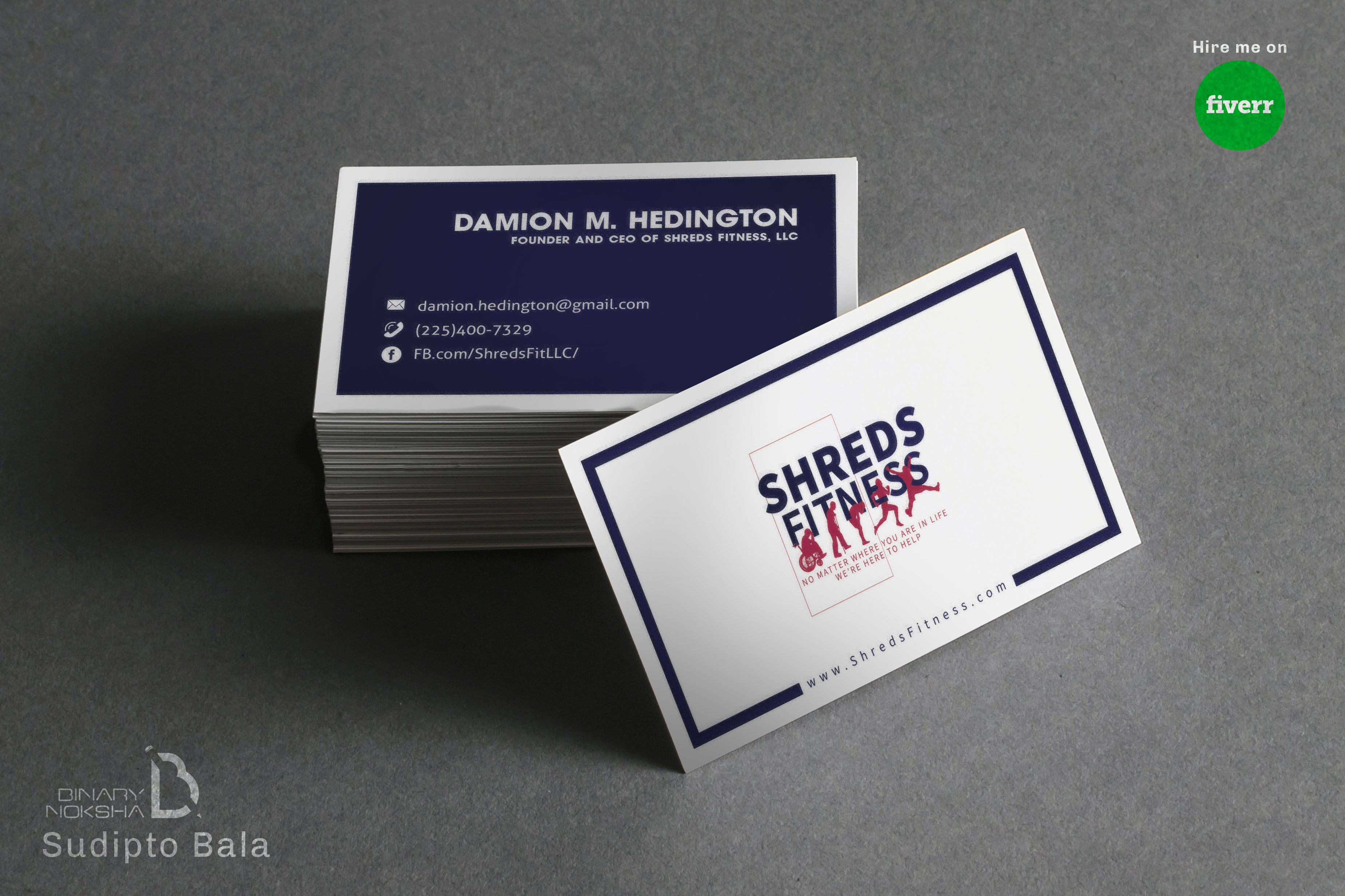 Design Unique Business Card Or Visiting Card By Sudiptobala