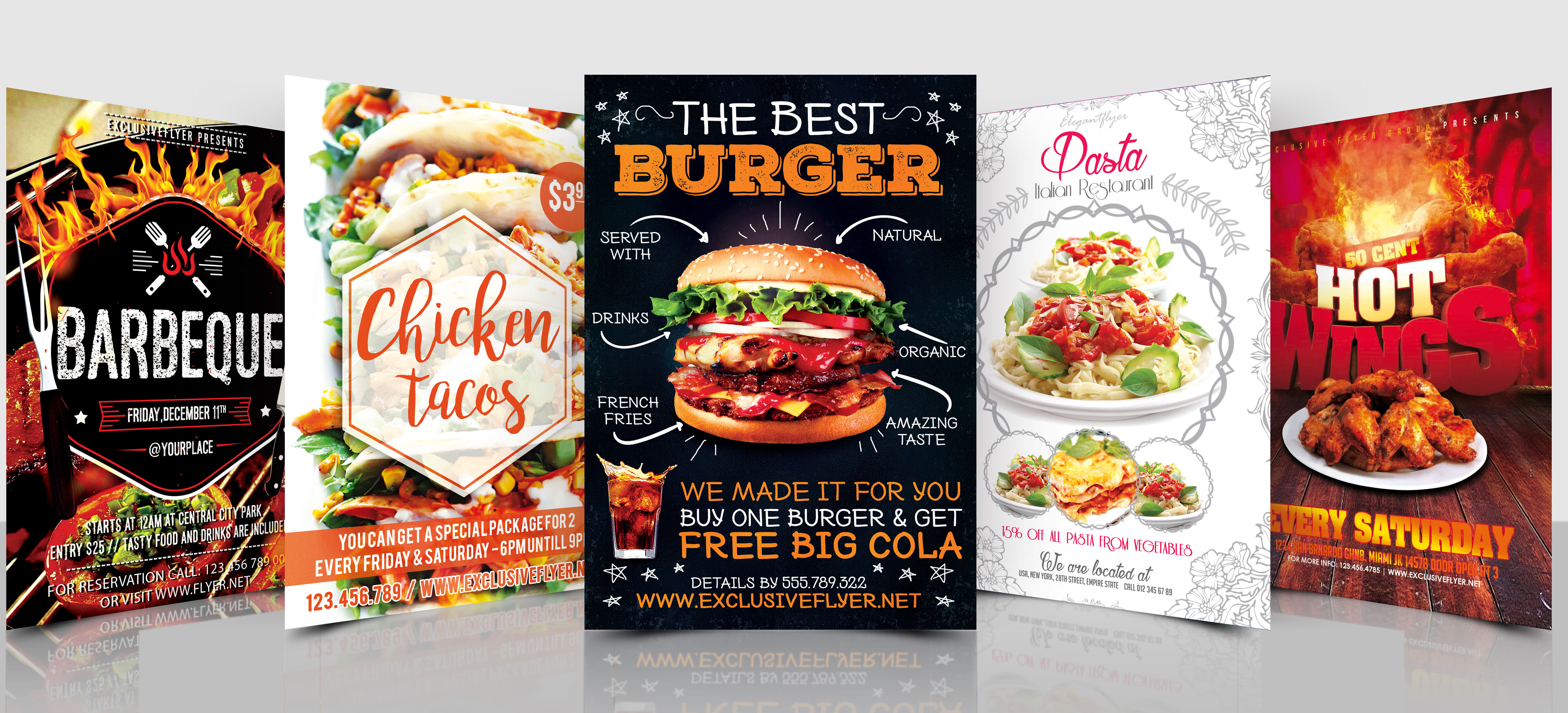 30+ Top For Standing Food Banner Design Poster