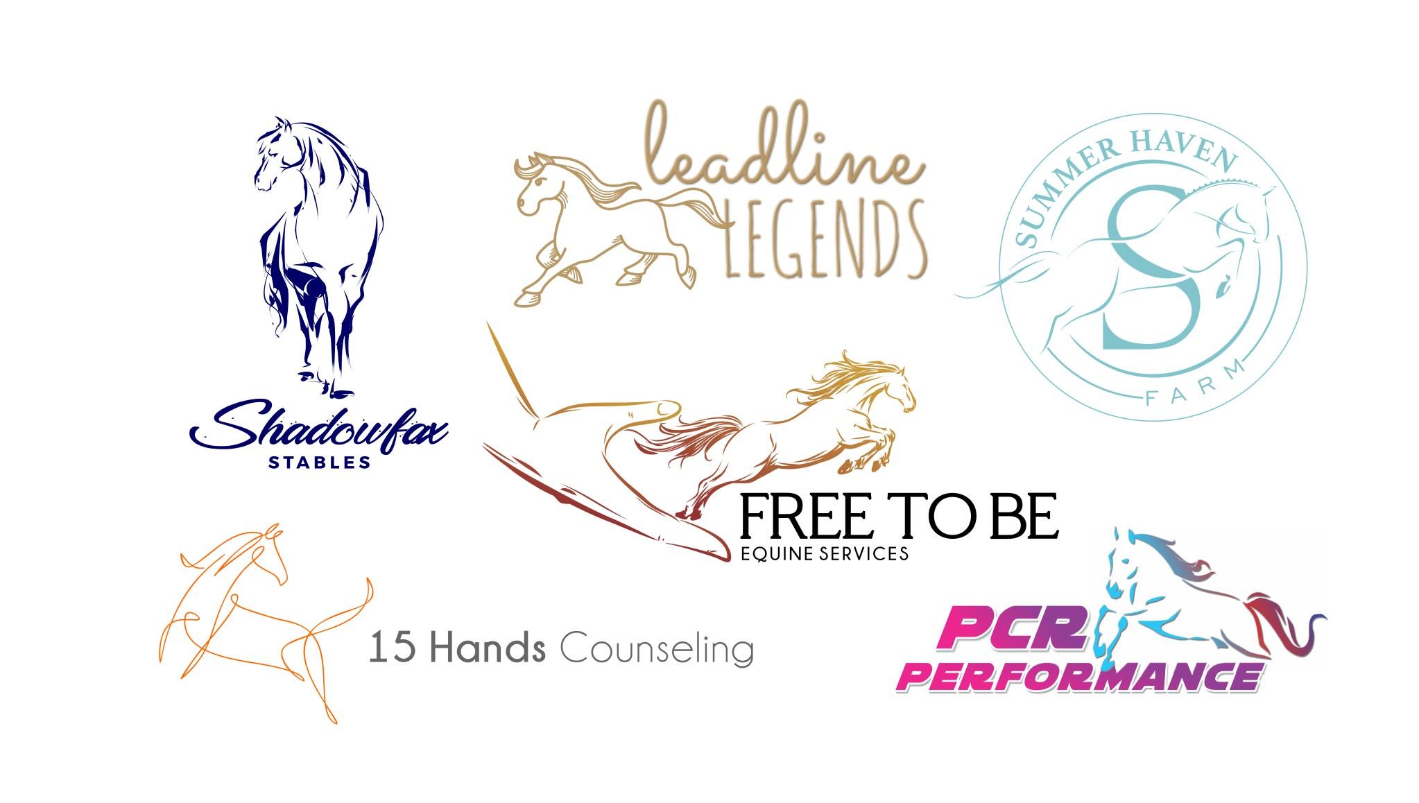 Do Equestrian Horse Racing Equine Logo By Signatron