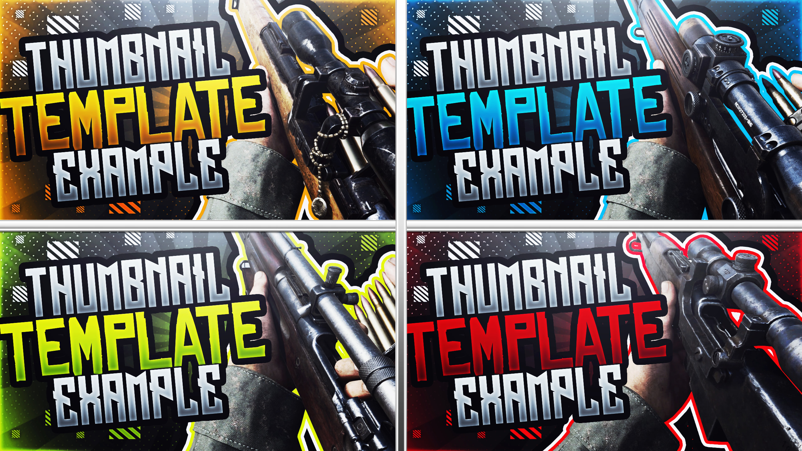 Design You A Cod Ww2 Sniping Montage Youtube Thumbnail By Acezproduction