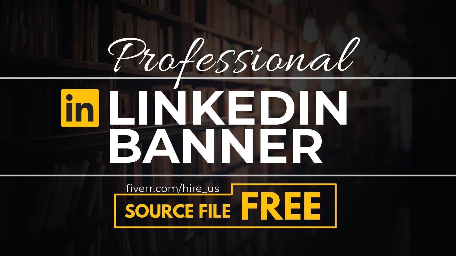 Design Professional Linkedin Banner Or Header