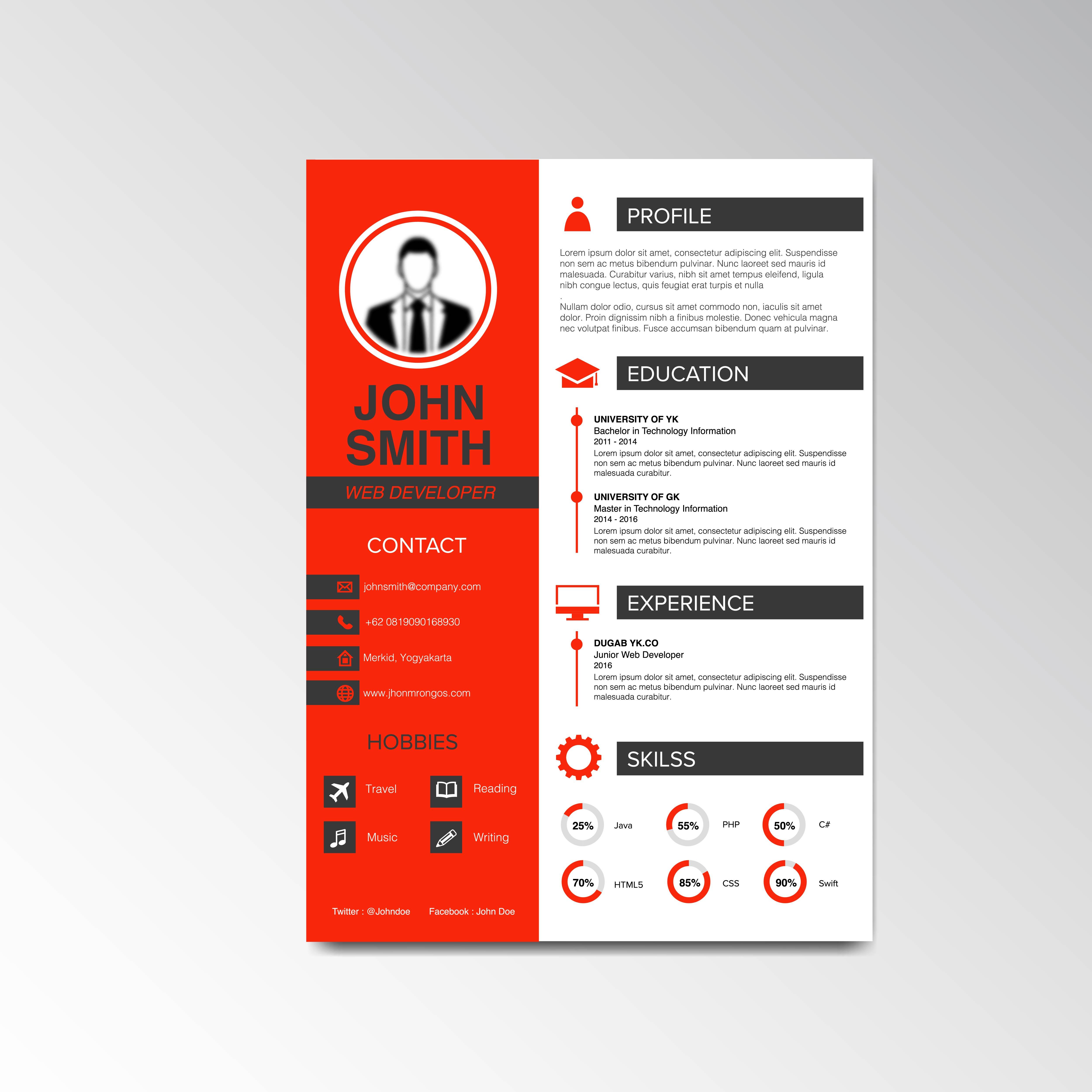Write Resume Design Resume Cv Cover Letter Resume Design By