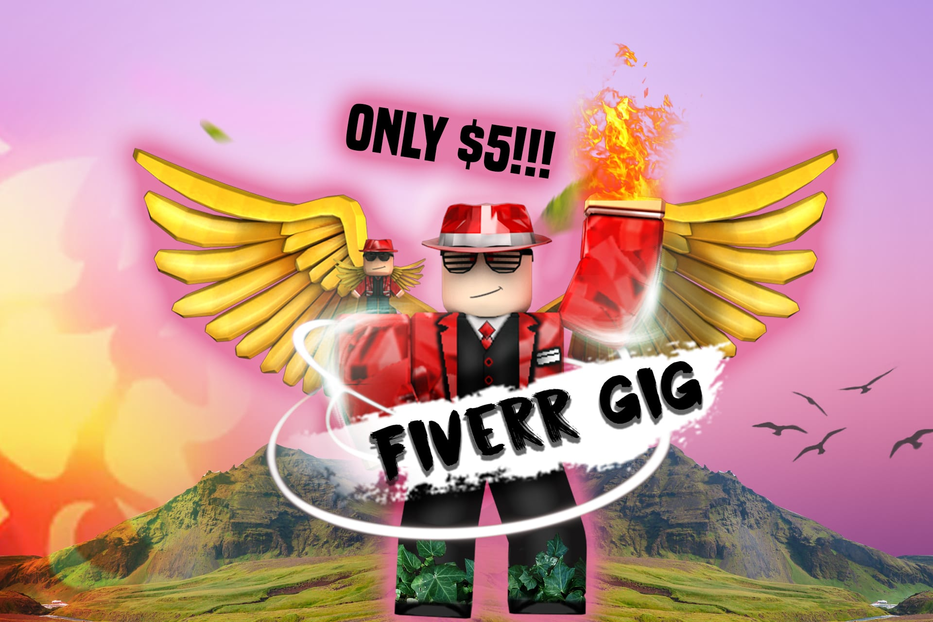 Design You Professional Roblox Gfx Adverts Or Thumbnails By M Pgaming