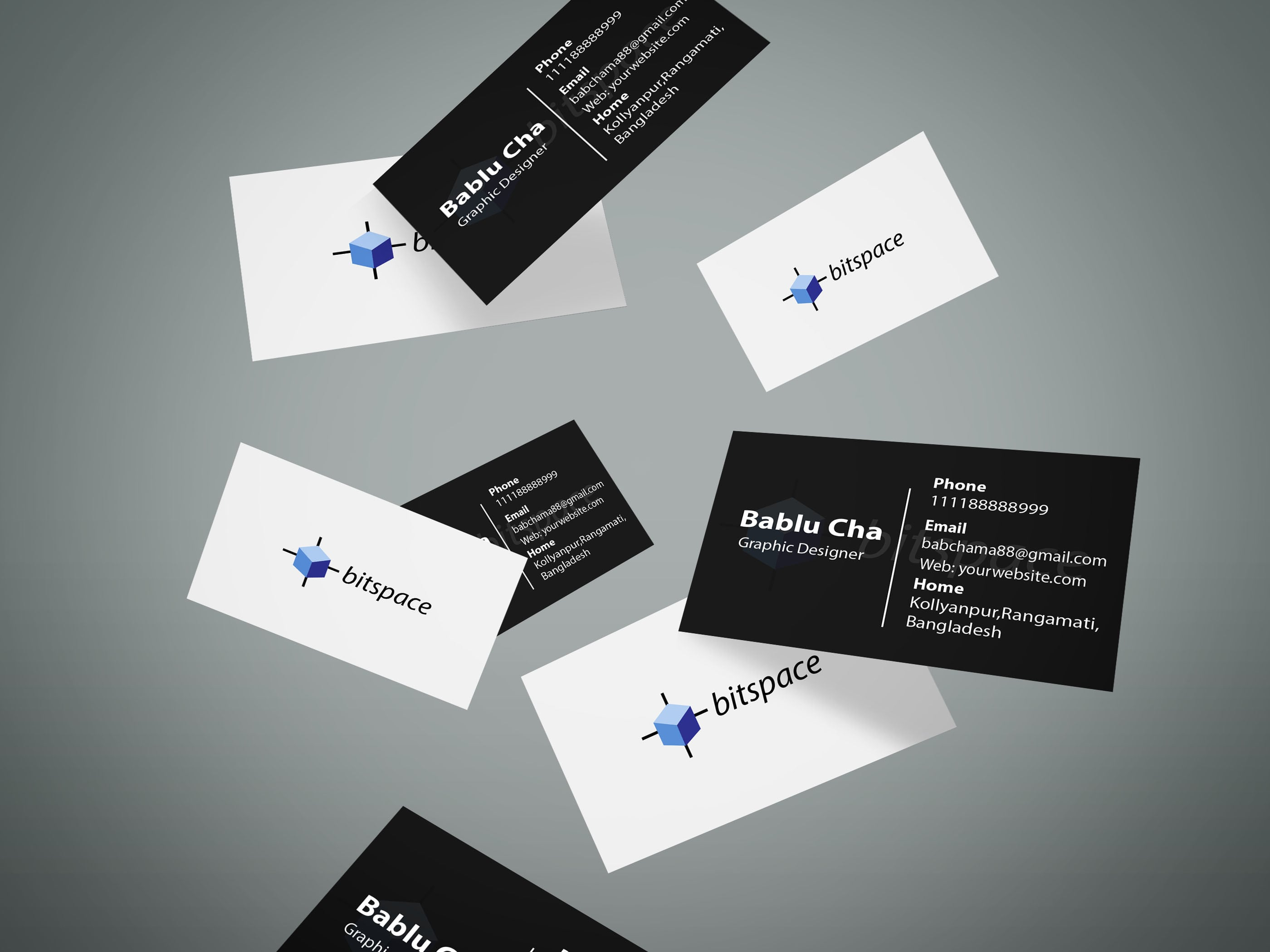 Design Two Sided Business Card Within A One Day By Bablu946
