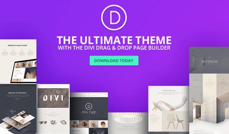 Provide and install divi theme for wordpress by Fireball003