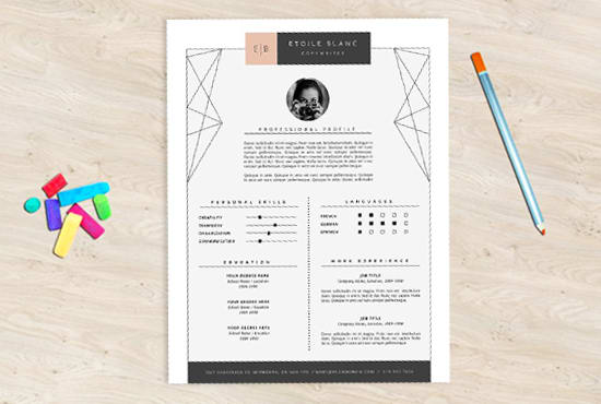 Design Standout Resume Cover Letter By Marnababy Fiverr