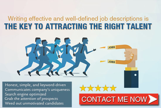 Write a compelling job description and job posting by Iamsandrahess   Fiverr