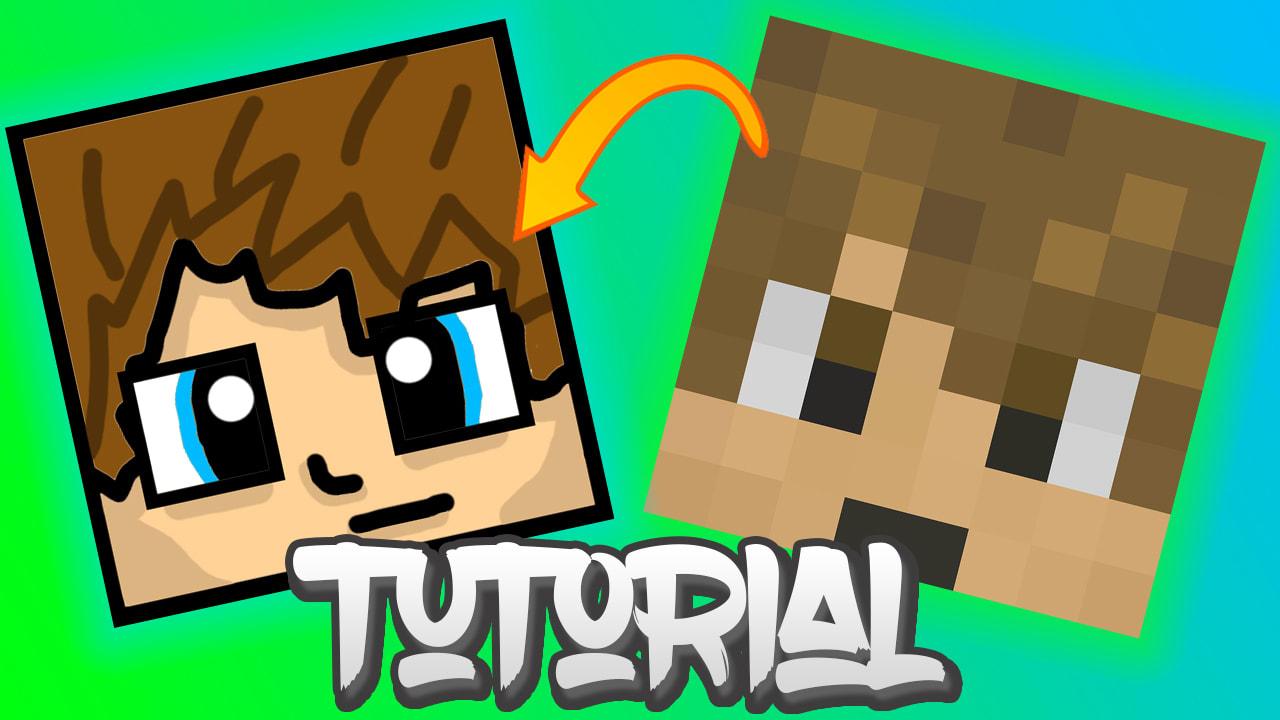 Make custom skin animated minecraft avatar by Shadyartists
