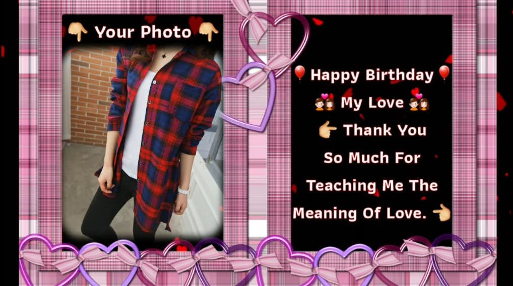 I Will Create Different Birthday Wishes Messages Video For Lover