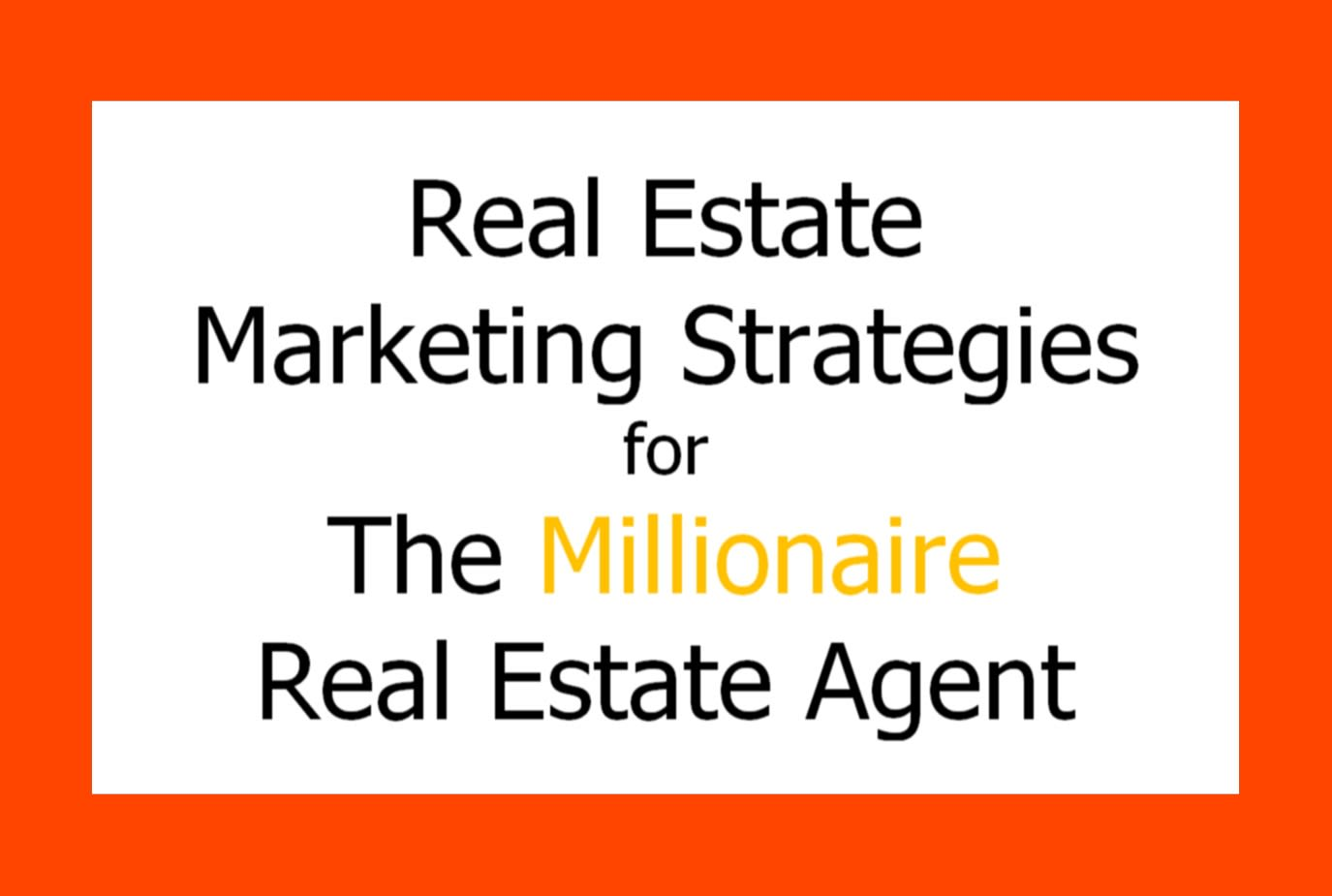 Send You Client Magnet Real Estate Marketing Ideas By Ajccarreon