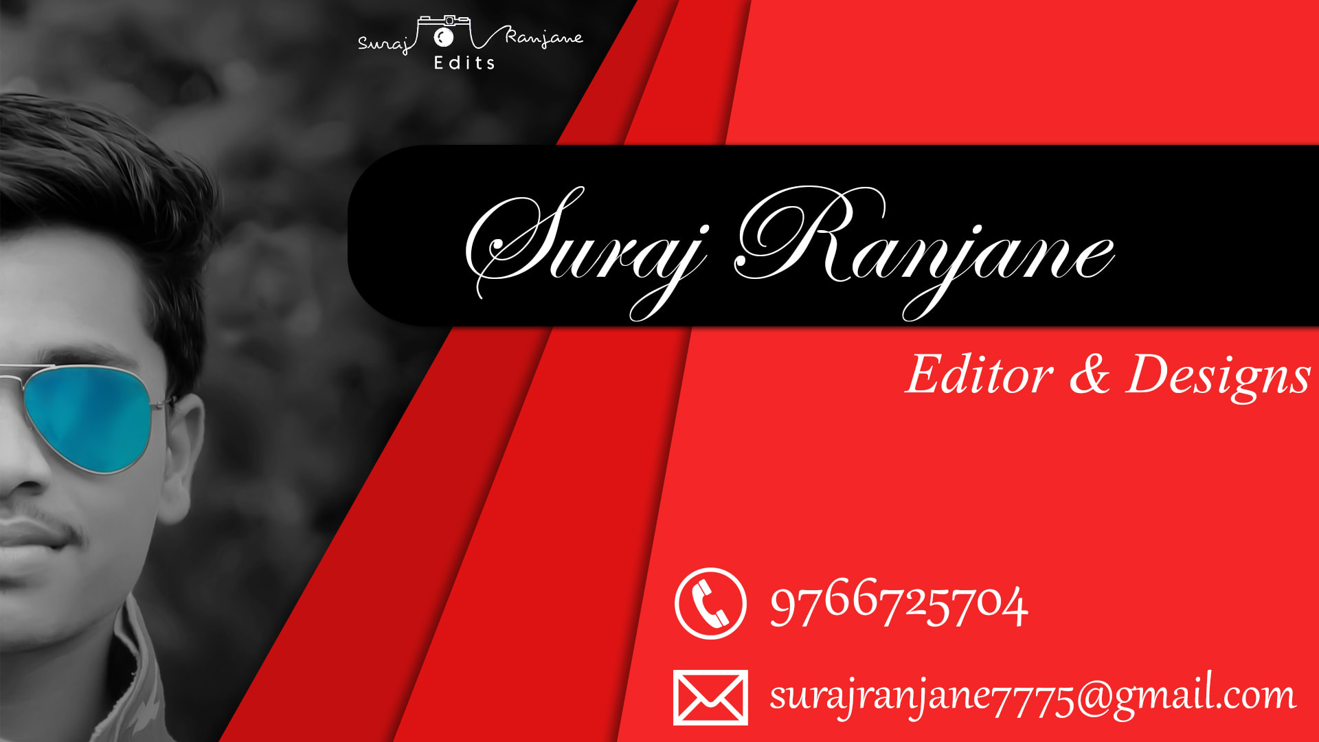 Business cards and wedding cards by Surajranjane