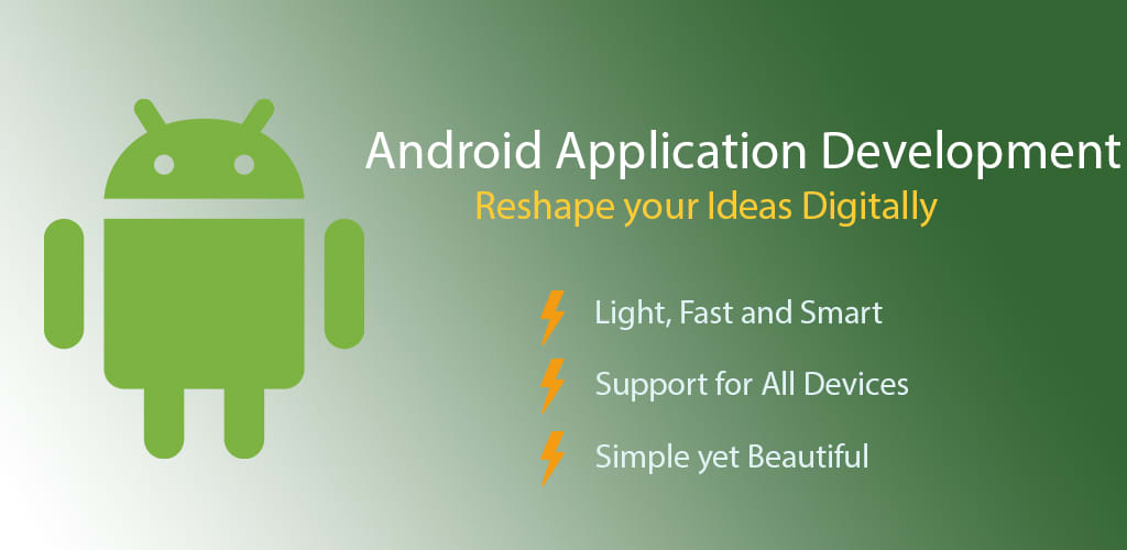 develop a beautiful android app