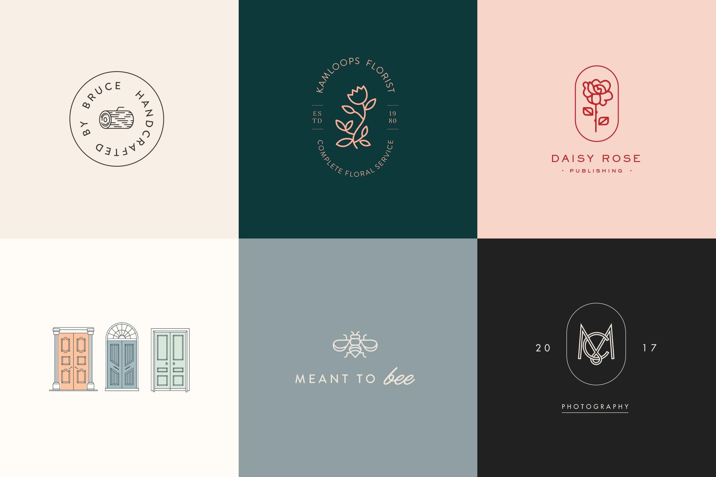 design a minimalist monoline logo design by zlannan design a minimalist monoline logo design