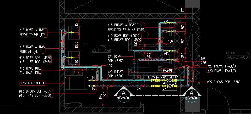 Hvac Plumbing Fire Fighting Electrical Design Shop Drawings By Krishnanmadhu