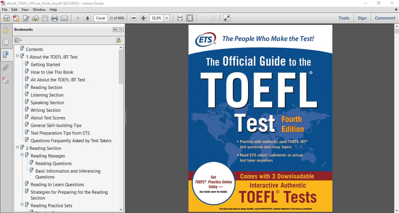 Toefl Preparation Material Pdf