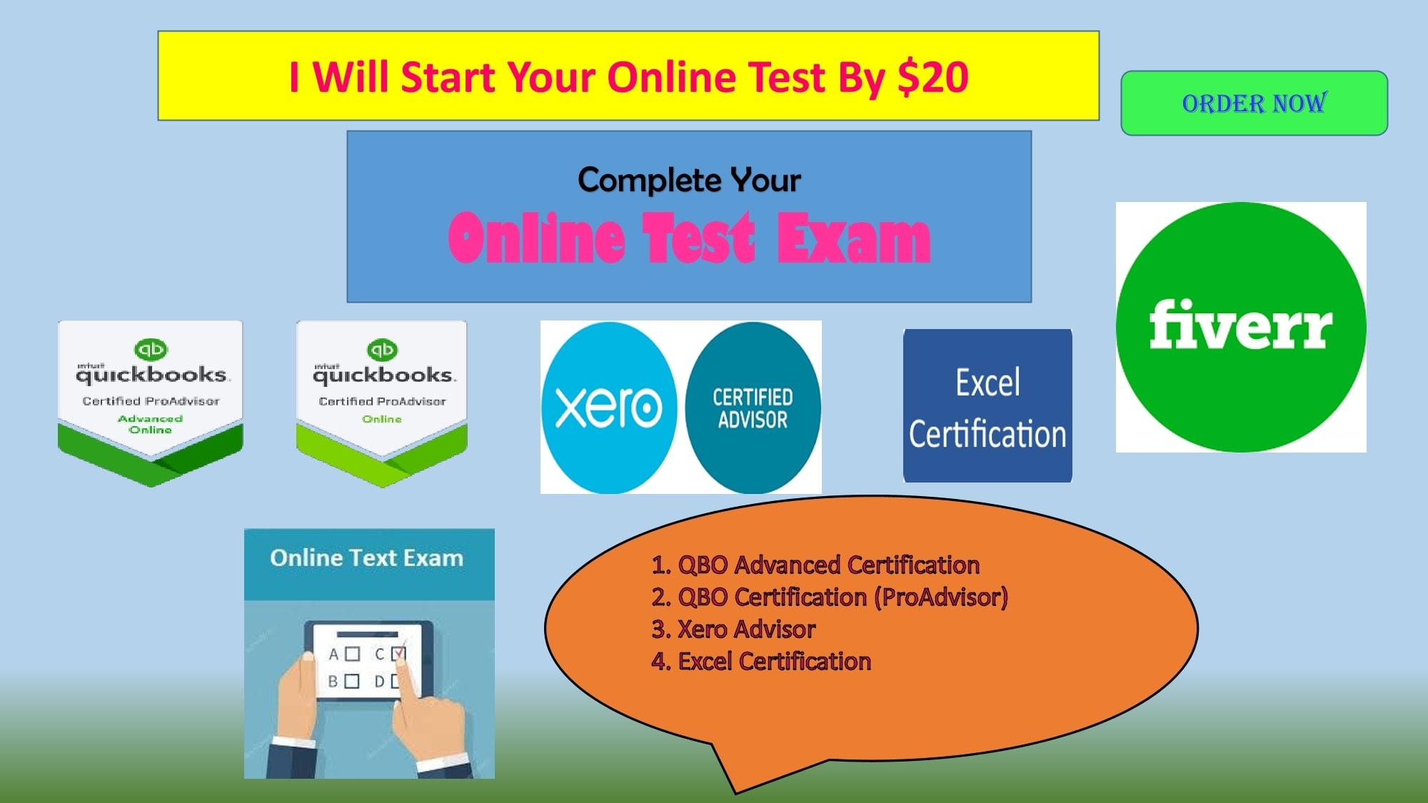 Start Your Online Test At Quickbooks Proadvisor By Enamjuthy