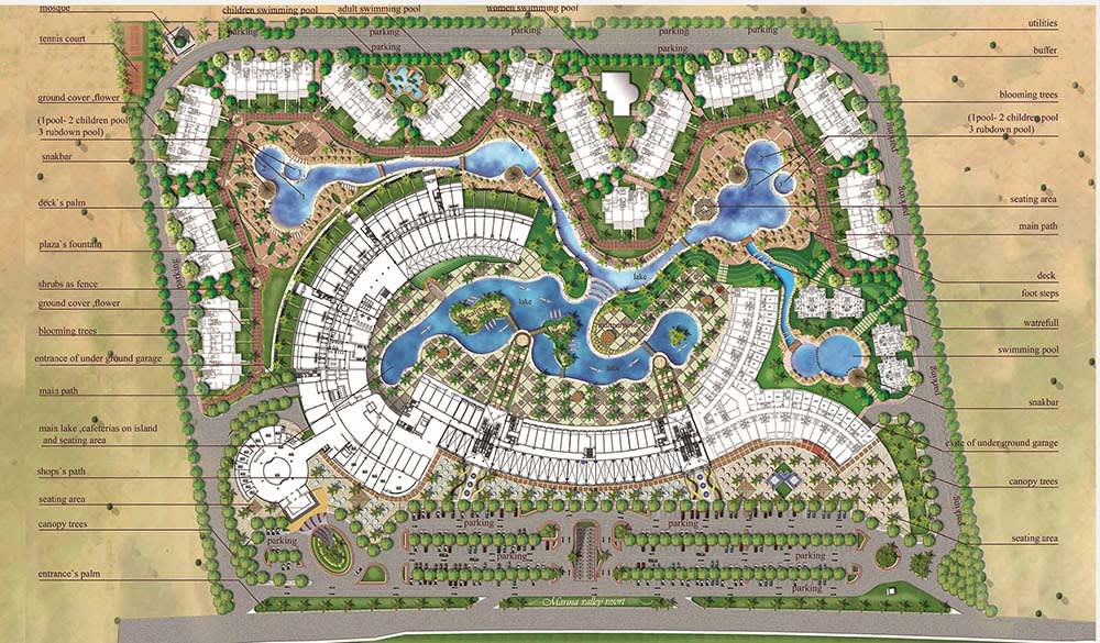 Do Landscape Architecture Design For The Site Plan By Mostafamagdy79 Fiverr