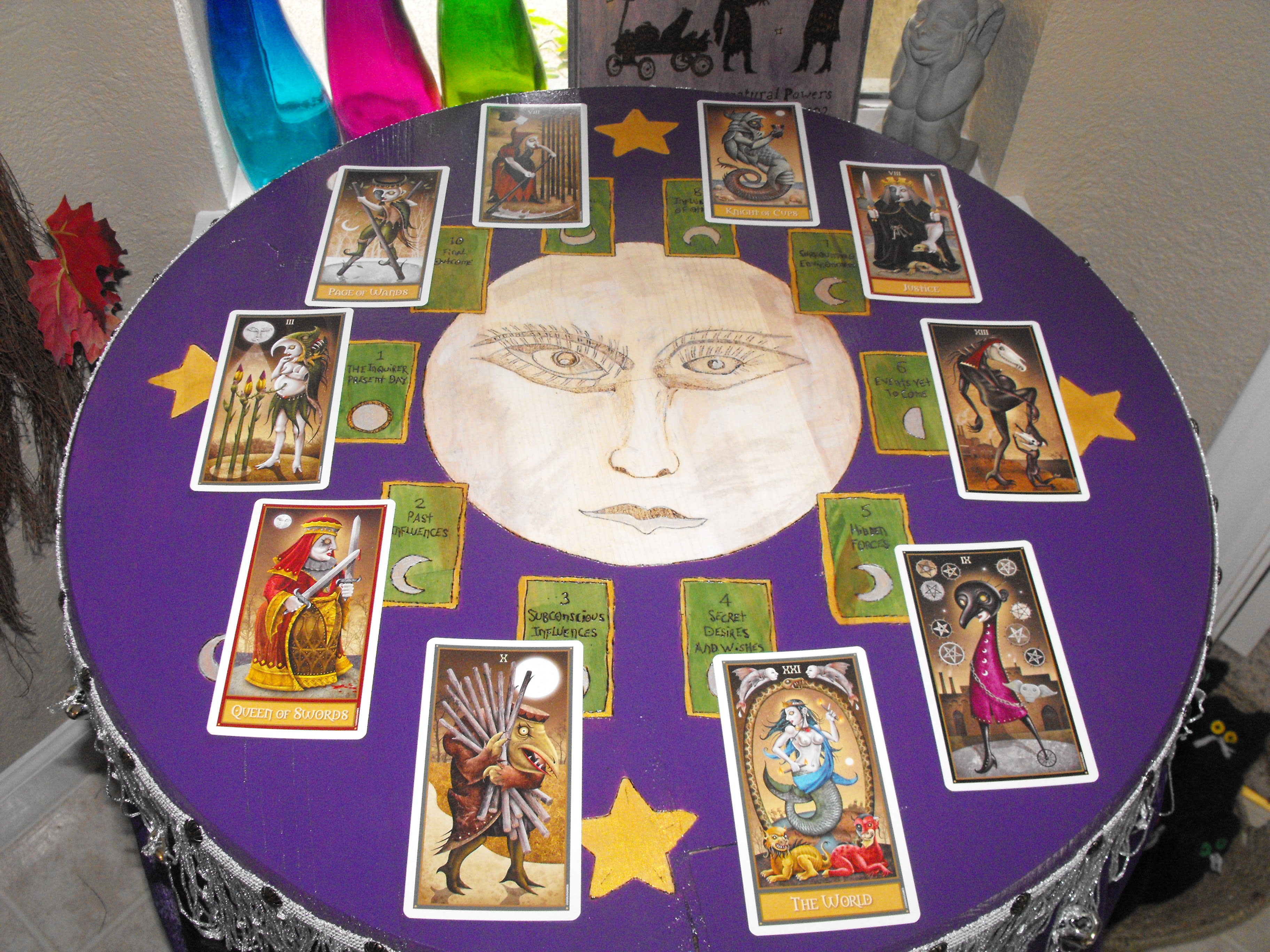 give you a detailed card reading about your future
