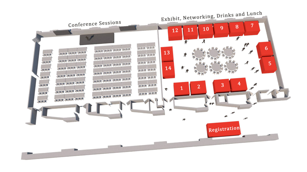 Create Exhibition Floor Plan Or Fire Exit Plan By Tealea Fiverr