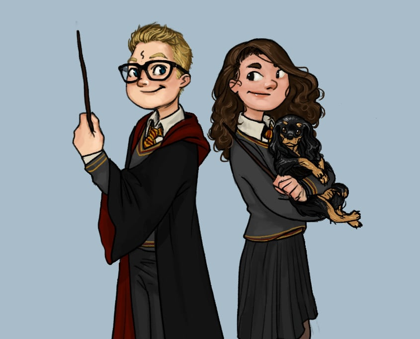 Draw You As A Harry Potter Character By Sandramessias Fiverr
