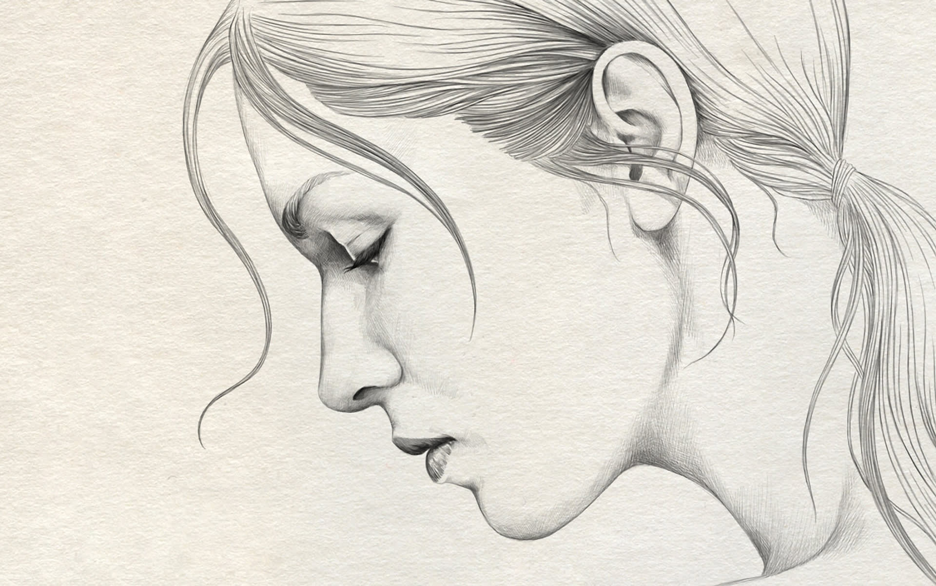 I will turn your photo into pencil sketch