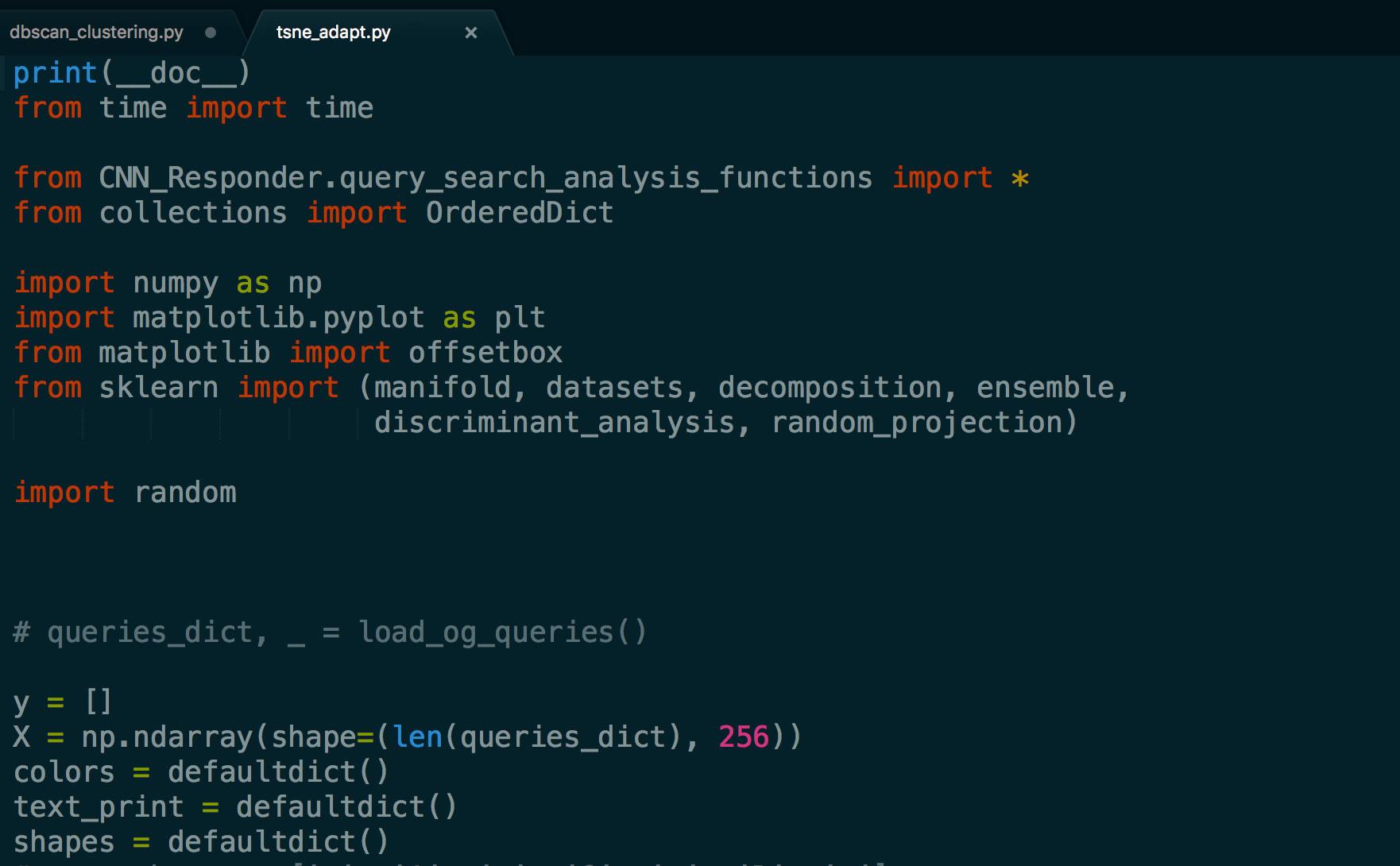 Dbscan code in matlab