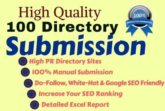 create 100 directory submission links