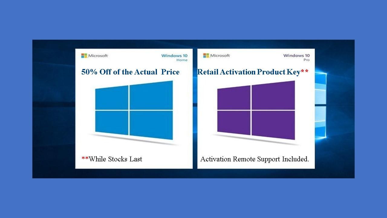 windows 10 pro product key cost