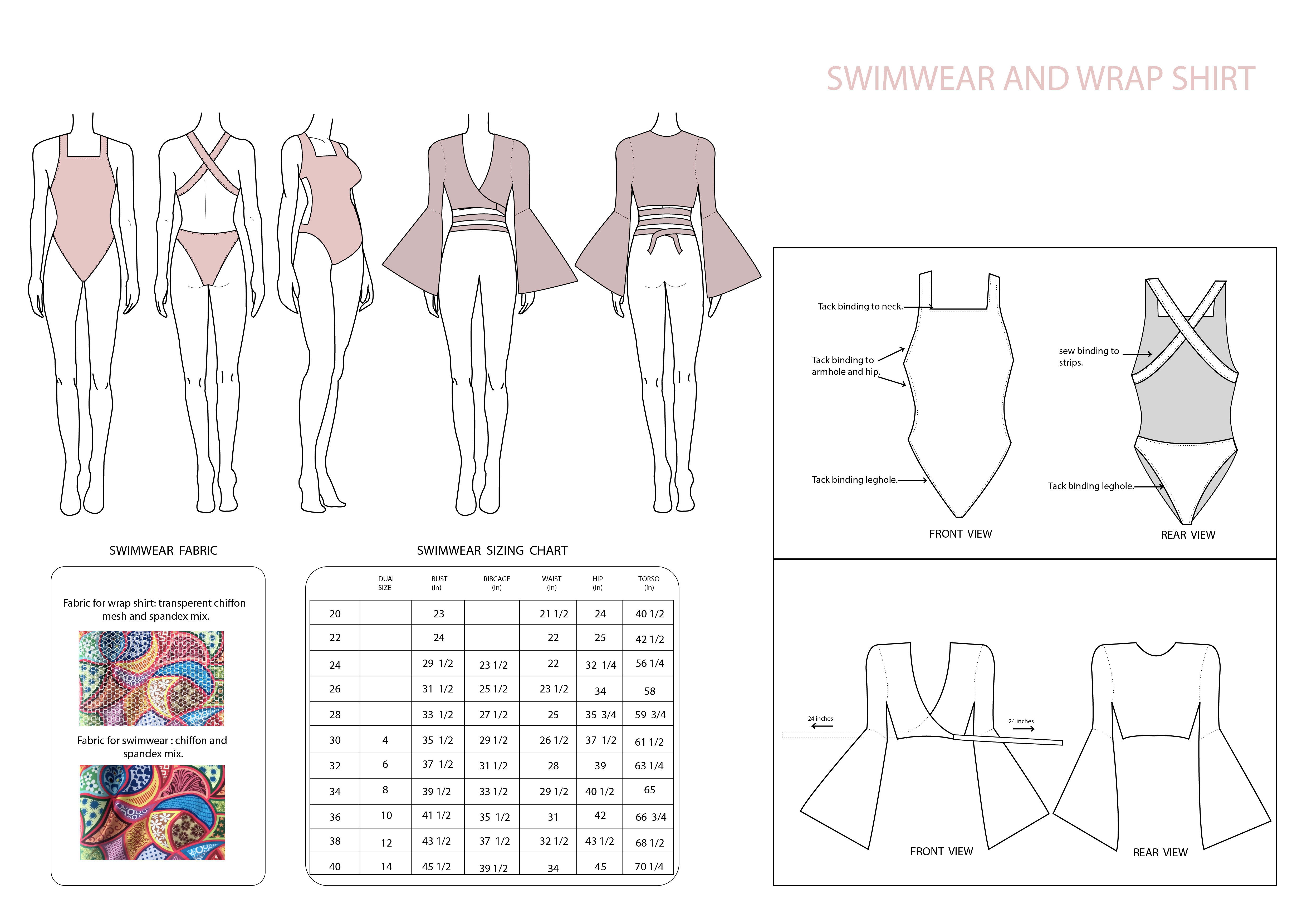 Do Technical Drawing Fashion Illustration Cad And Fashion Flats By Ajanims